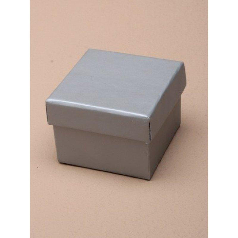 Extra Small Silver Matt Laminated Gift Box