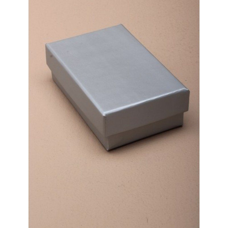 Small Silver Matt Laminated Gift Box