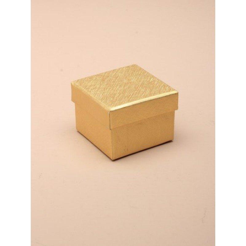 Extra Small Metallic Gold Gift Box