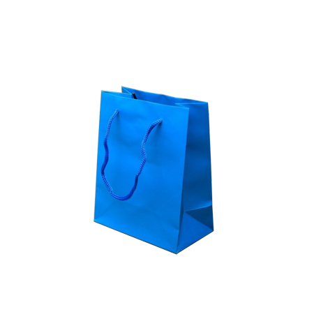 Ex Small-Turquoise-Paper Bag