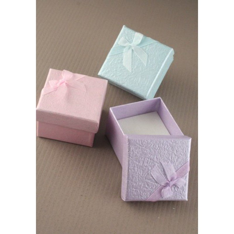 Extra Small Coloured Dimpled Paper Gift Box