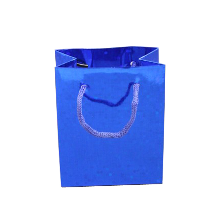 Small-Blue-Holographic Gift Bag
