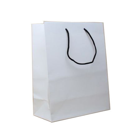 Small White Matt Laminated Paper Bags