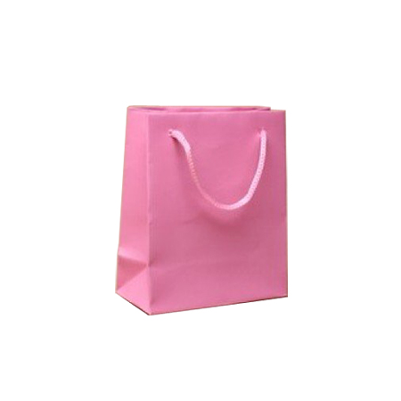 Ex Small-Baby Pink-Paper Bag