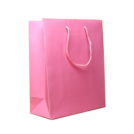 Small-Baby Pink-Paper Bag