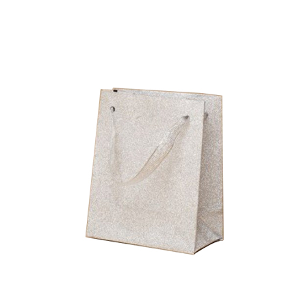 Ex Small-Silver-Paper Bag