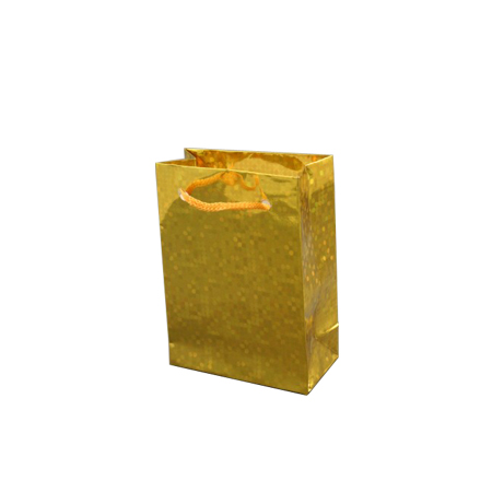Small-Gold-Holographic Gift Bag