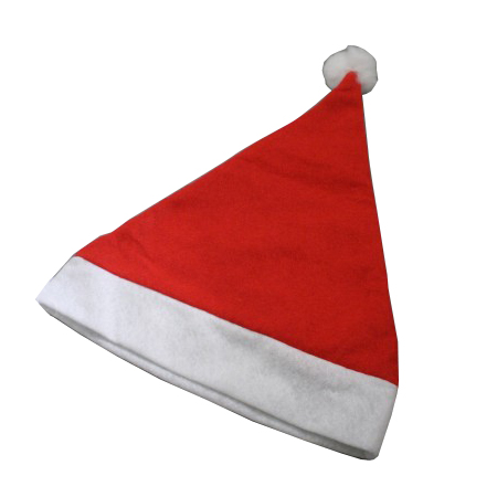 Child size-Red with White Trim-Christmas Santa Hats