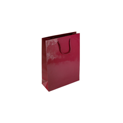 Extra Small Tiny-Burgundy-Paper Bag