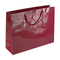 Large Burgundy Paper Gift Bag