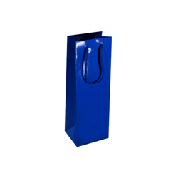 Royal Blue Wine Bottle Bags