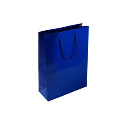 Small Royal Blue Paper Gift Bag