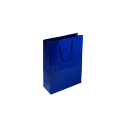 Extra Small Royal Blue Paper Gift Bag