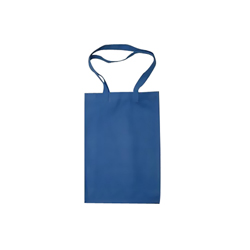 Medium Blue Cotton Bag