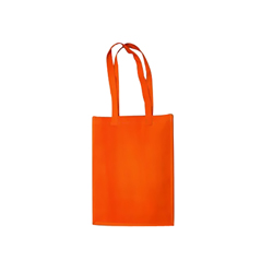 Medium Orange Cotton Bag