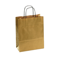 Large Gold Kraft Paper Bag