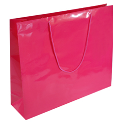 Extra Large Dark Pink Paper Gift Bag