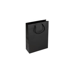 Extra Small Tiny-Black-Paper Bag
