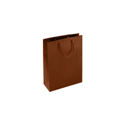 Extra Small Tiny-Chocolate Brown-Paper Bag