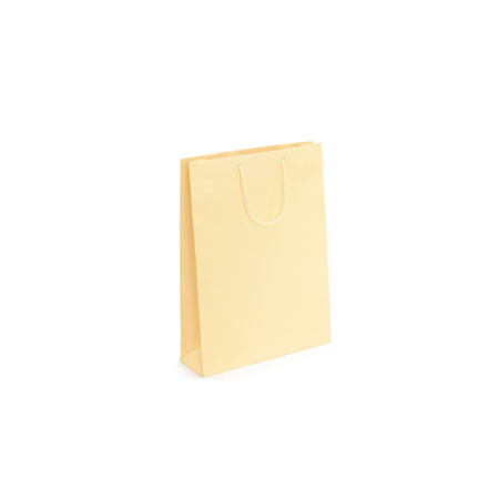 Ex Small Cream Matt Laminated Paper Bags