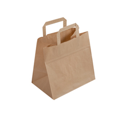 Medium Brown Kraft Paper Bag