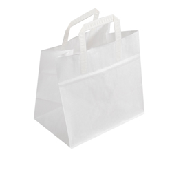 Large White Kraft Paper Bag