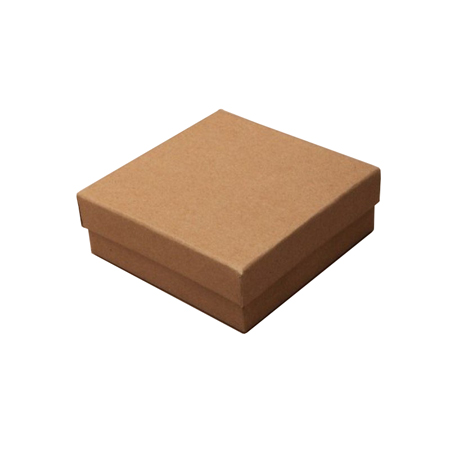 Small Natural Brown Kraft Paper Gift Box