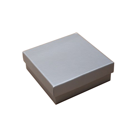 Small Silver Matt Laminated Gift Box