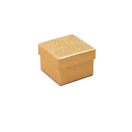 Extra Small Metallic Gold Gift Box