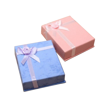 Small Gift Box with Satin Ribbon Detail