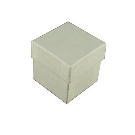 Extra Small Ivory Plain Gift Box