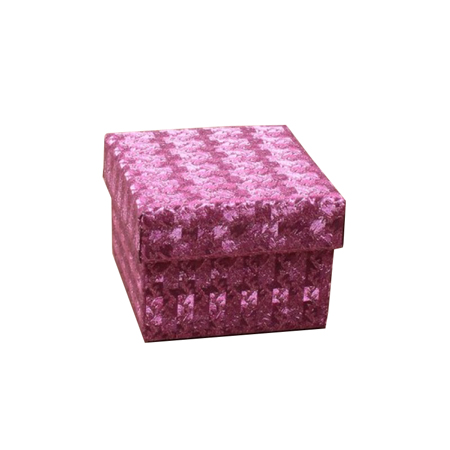 Extra Small Fuchsia Hologram Gift Box