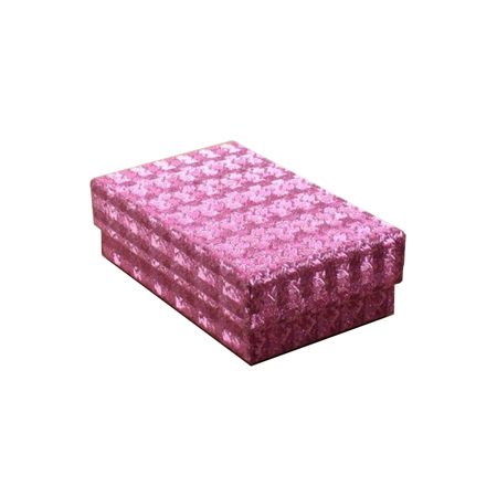 Small Fuchsia Pink Hologram Gift Box