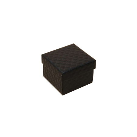 Extra Small Black Quilted Style Gift Box