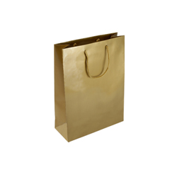Small Gold Paper Gift Bag
