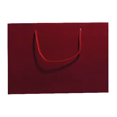 Large Burgundy Matt Laminated Paper Bags