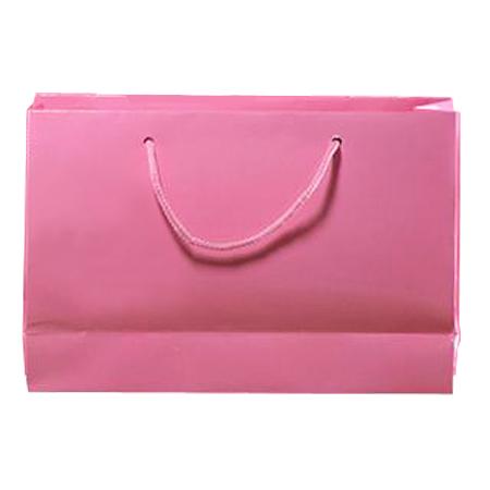Large Baby Pink Matt Laminated Paper Bags