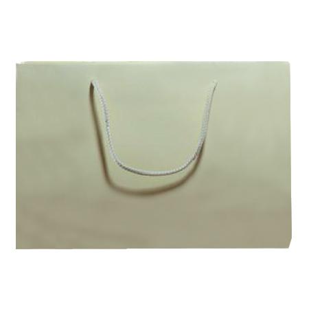 Large Cream Matt Laminated Paper Bags