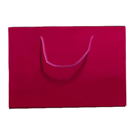 Large Dark Pink Matt Laminated Paper Bags