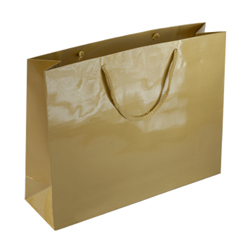 Large Gold Paper Gift Bag
