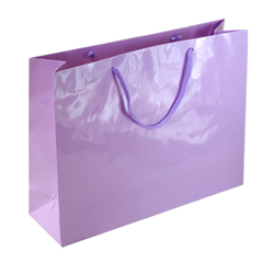 Large Lilac Paper Gift Bag