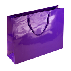 Large Purple Paper Gift Bag