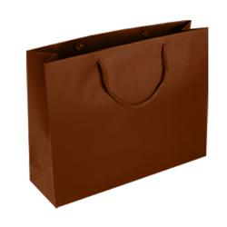 Large-Chocolate Brown-Paper Bag