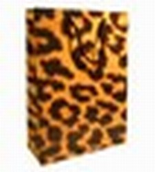 Medium Leopard Paper Gift bag