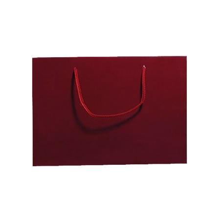 Medium Burgundy Matt Laminated Paper Bags