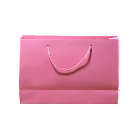 Medium Baby Pink Matt Laminated Paper Bags