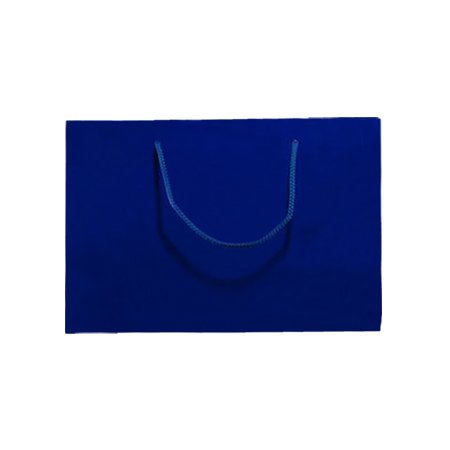 Medium Royal Blue Matt Laminated Paper Bags