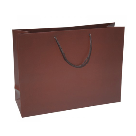 Large Cocoa Paper Gift Bag