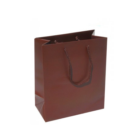 Small Plus Cocoa Paper Bags