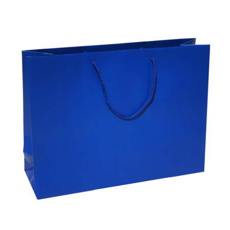 Large Royal Blue Paper Gift Bag